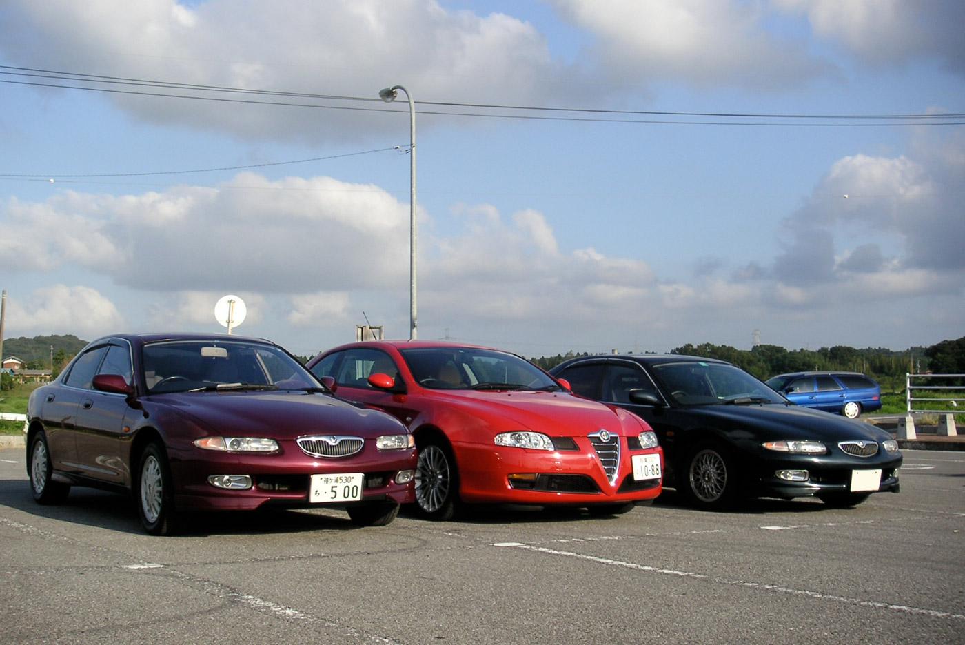 Eunos500 & Alfa GT