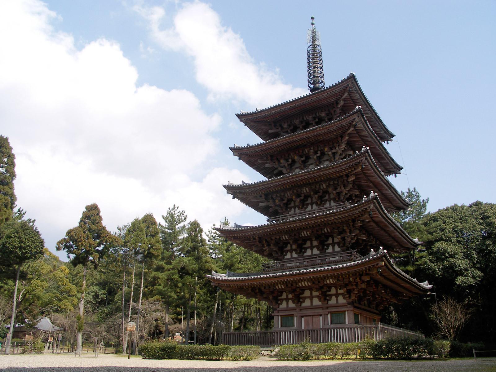 旅の締めは醍醐寺で