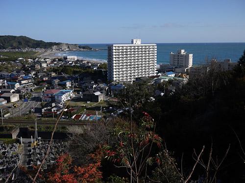 岩井山最明寺からの眺め