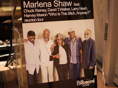 Marlena Shaw at Billboard Tokyo
