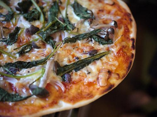 小松菜ピザ