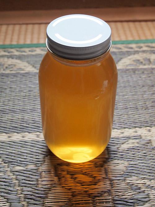 日本みつばちの蜂蜜