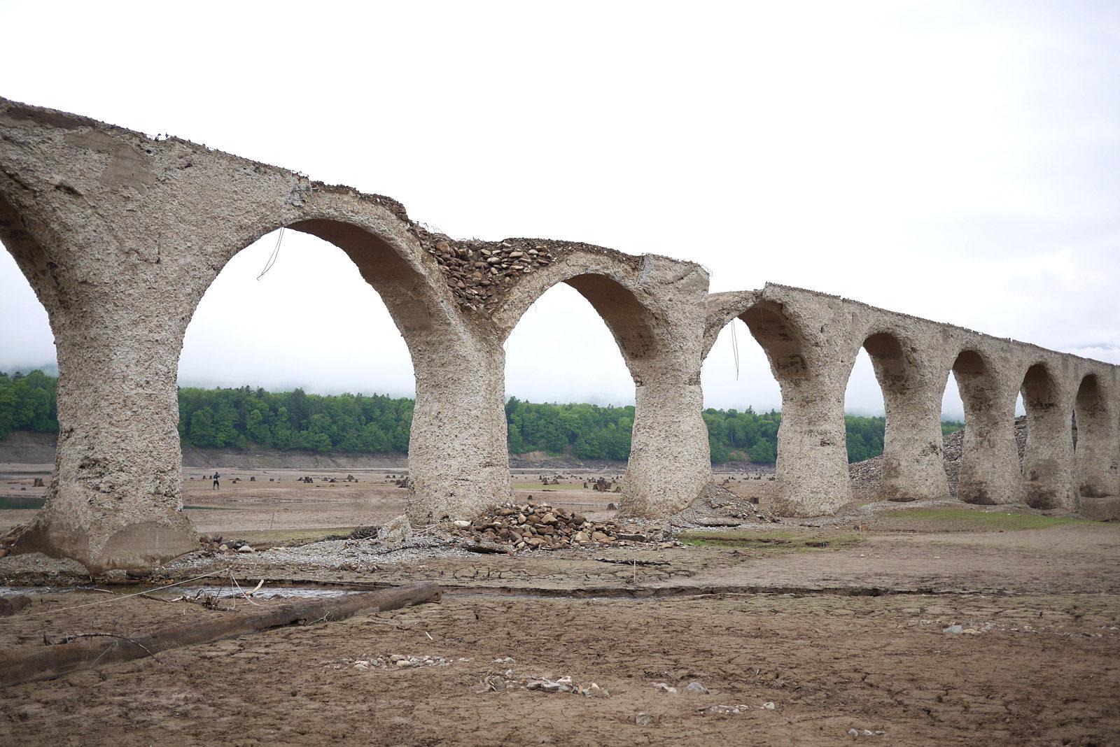 タウシュベツ川橋梁見学ツアー