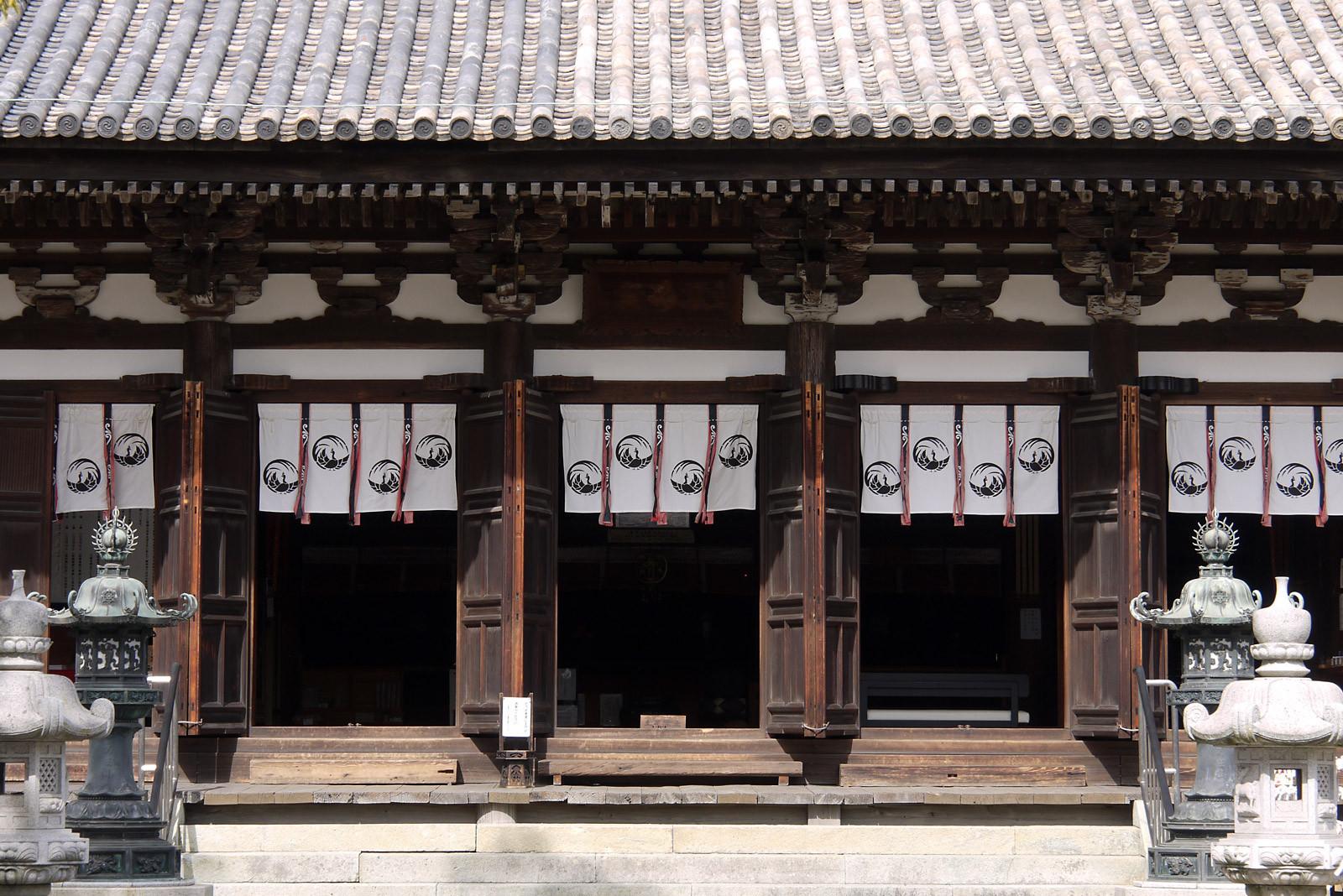刀田山 鶴林寺〜本堂