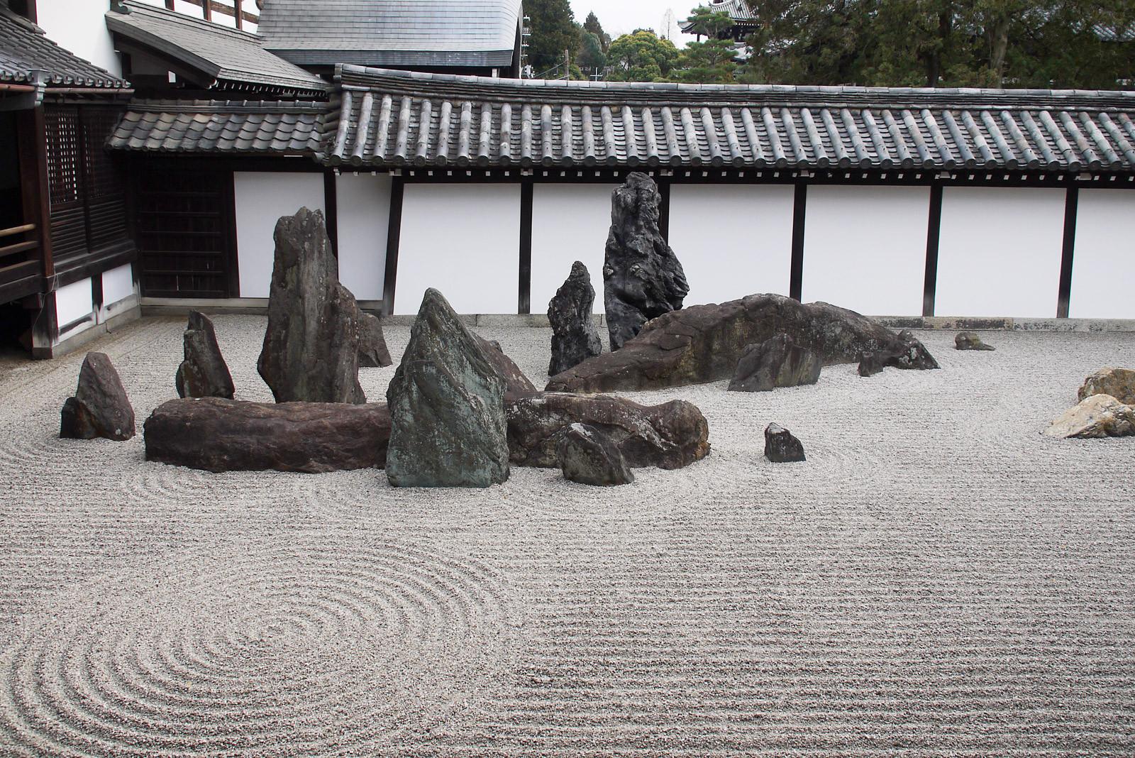 東福寺の重森三玲