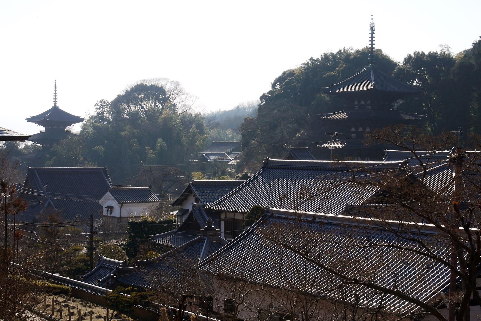 當麻寺 三重塔