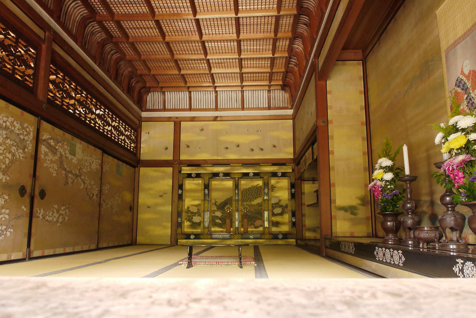 京都庭めぐりの旅 ~ 仁和寺(亀岡式)御殿