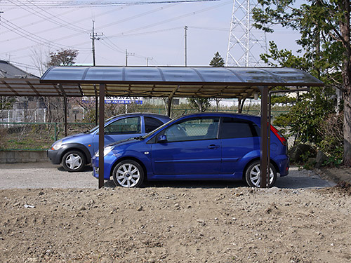 [Challenge100] 駐車場完成