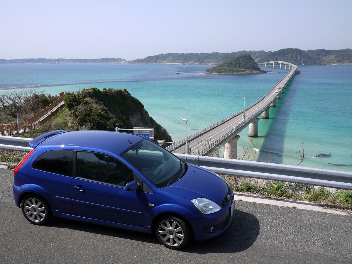角島大橋の美しさは想像以上