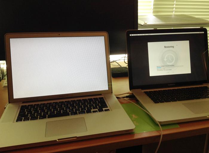 Macbook Pro GPU不具合発生