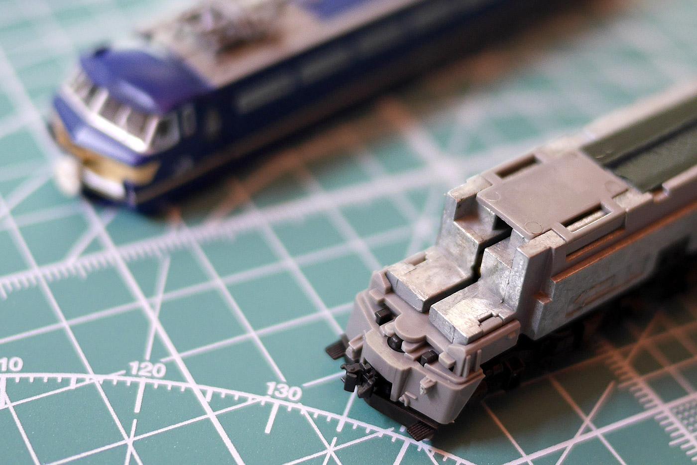 EF66 カプラー交換