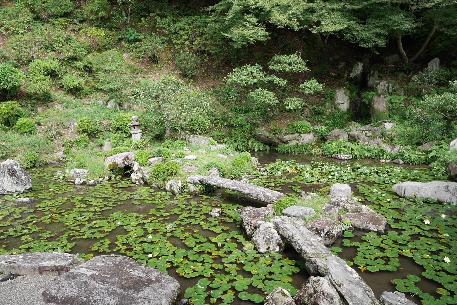 根来寺 地泉式蓬莱庭園