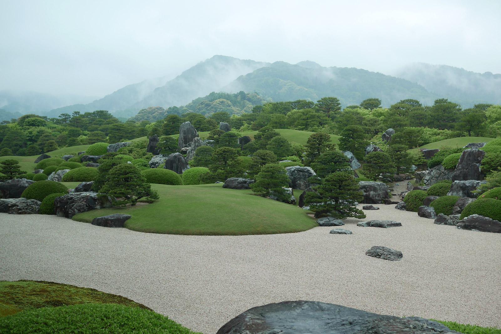 日本庭園と呼べない足立美術館