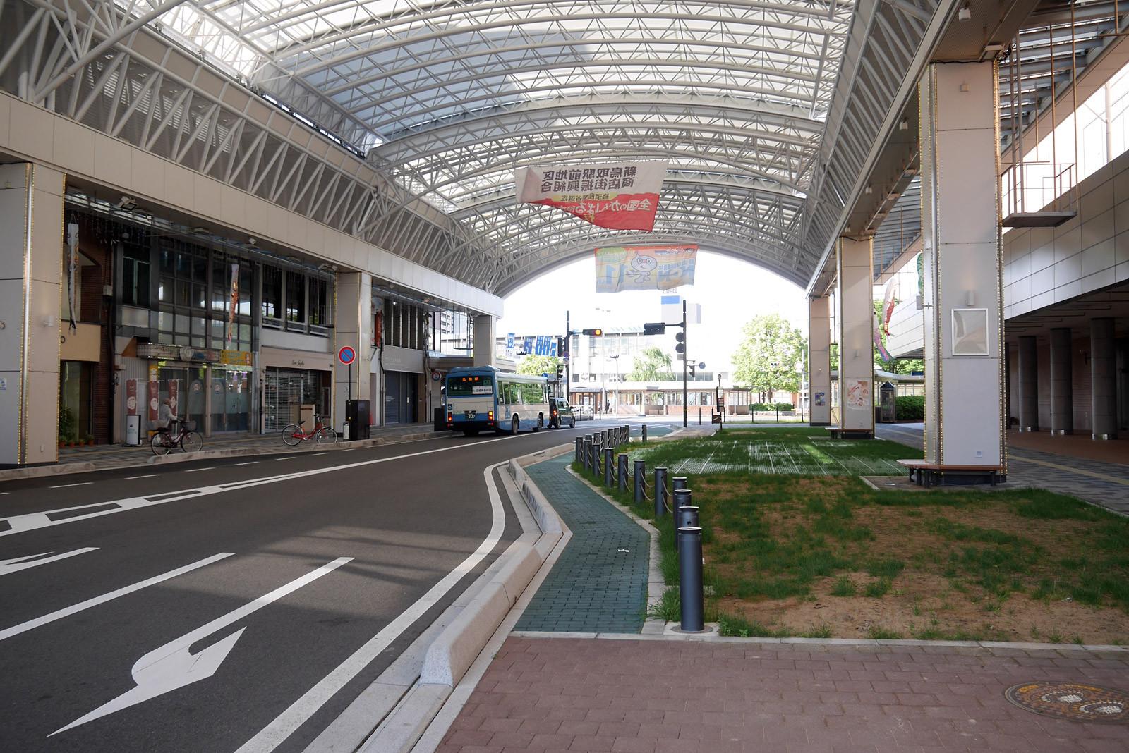 鳥取駅前アーケード