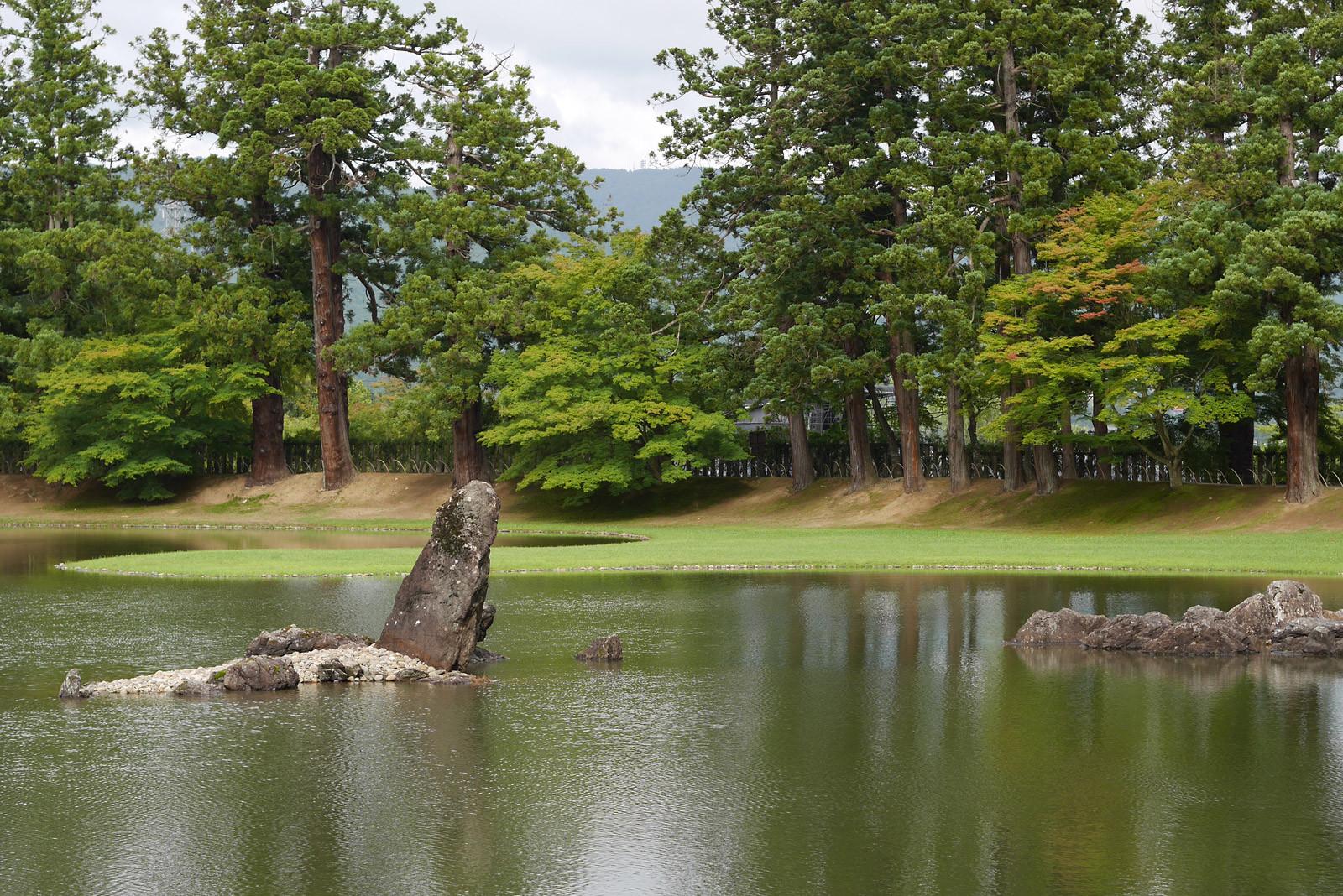 医王山 毛越寺の浄土庭園