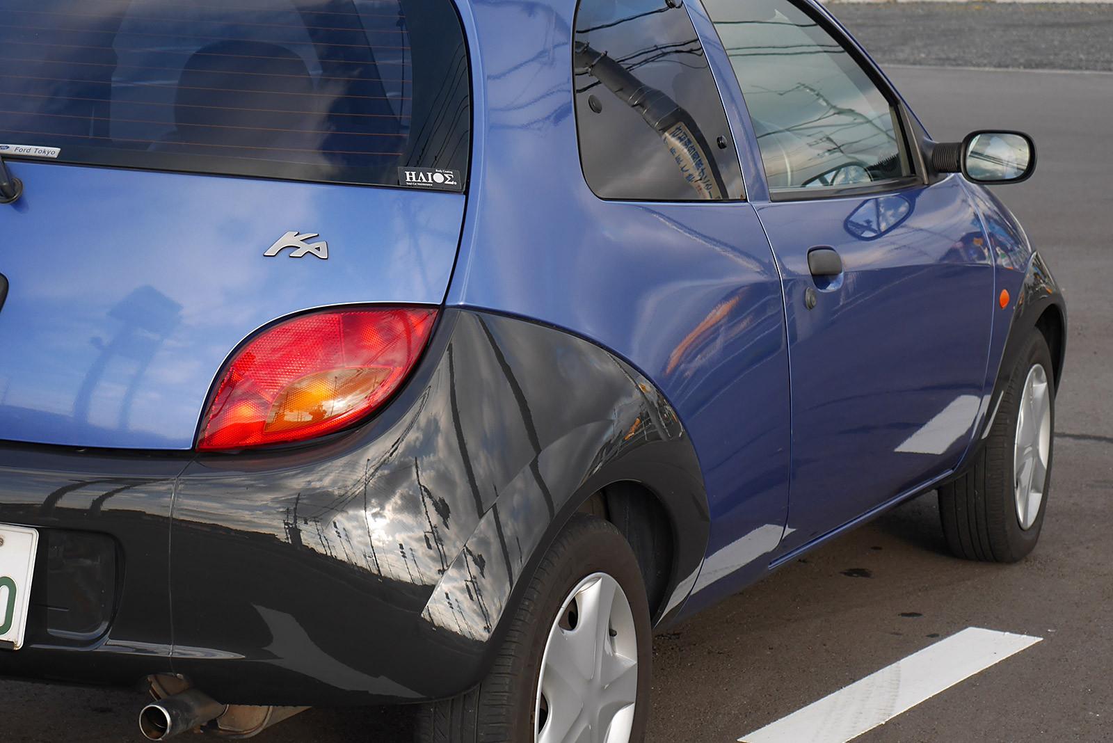 Fiesta STとKaの整備