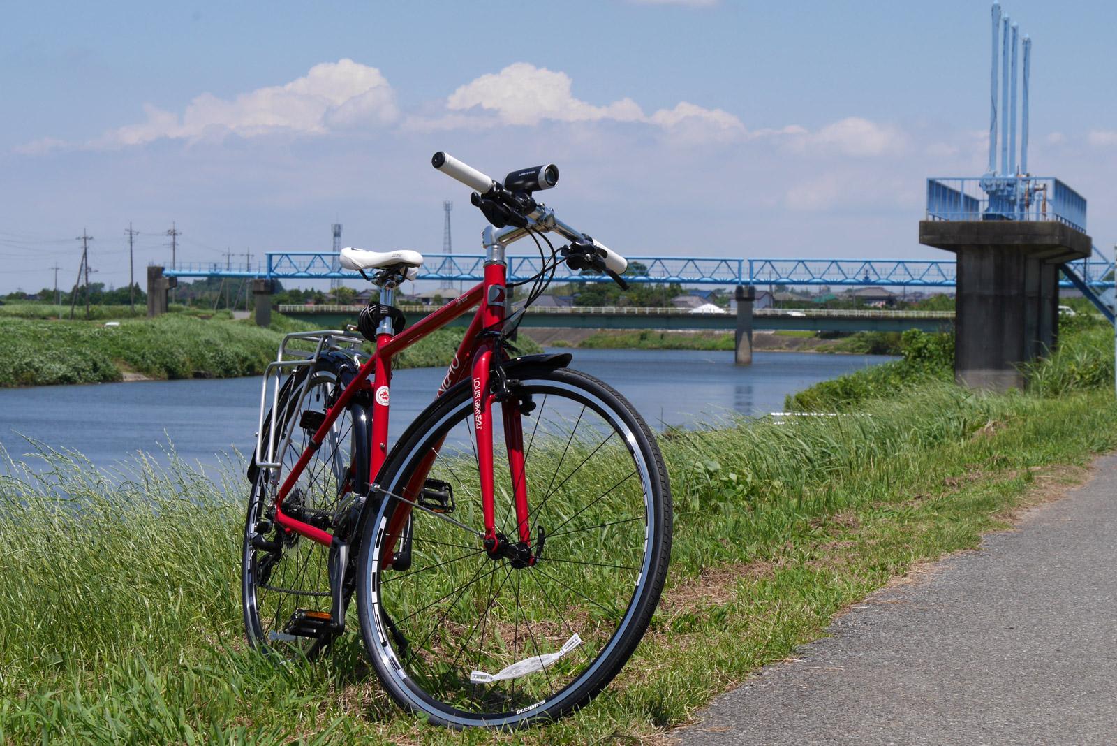 久々の自転車にクロスバイクを購入