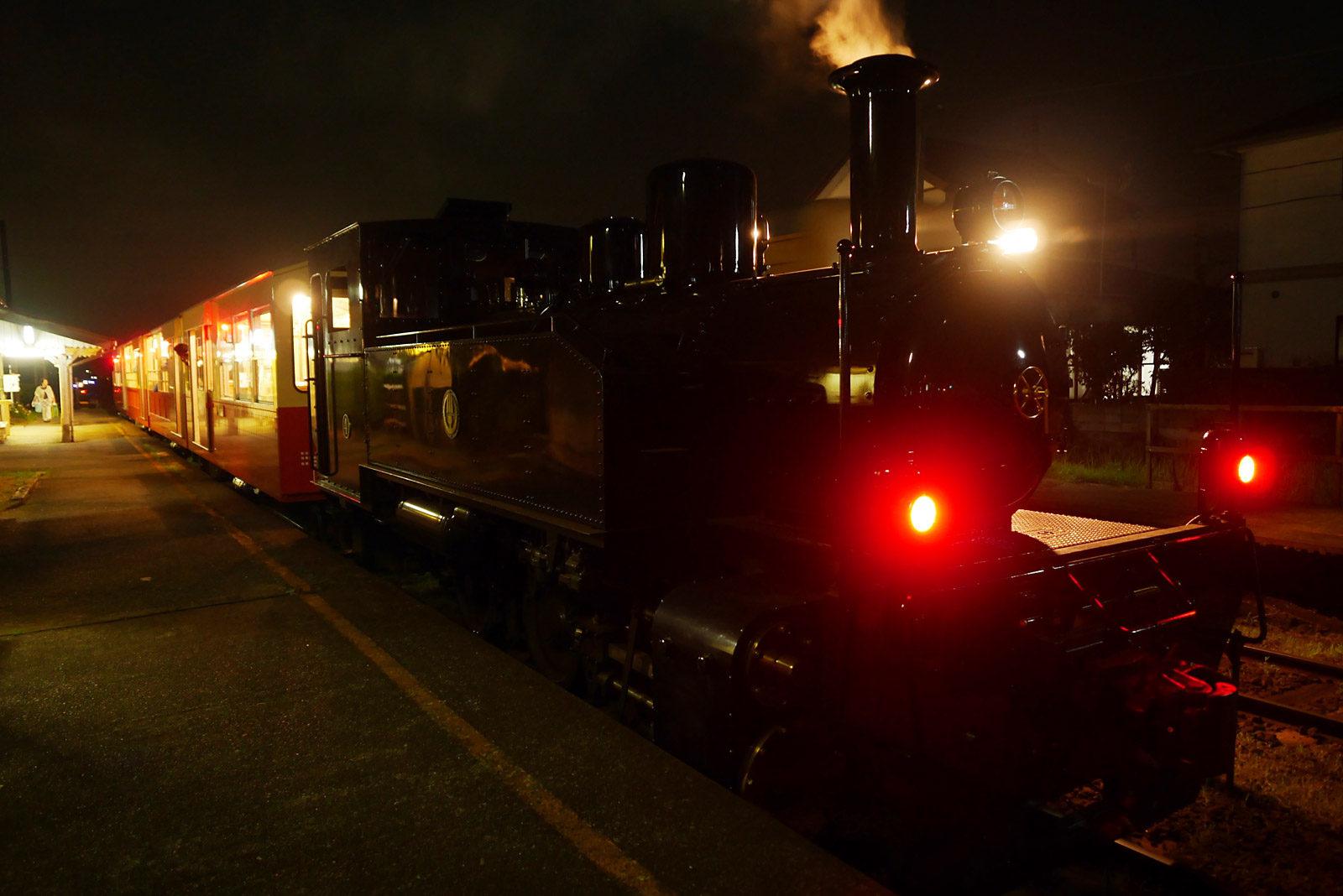 納涼 里山トロッコ列車
