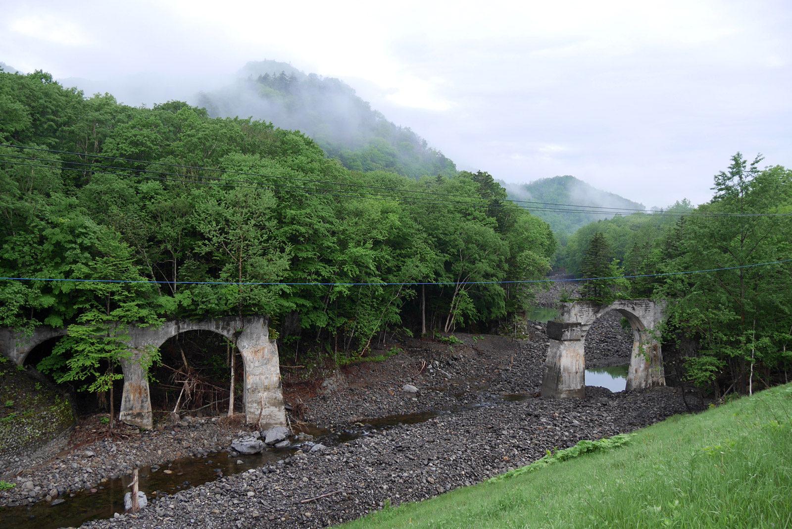 タウシュベツ川橋梁見学ツアーに参加
