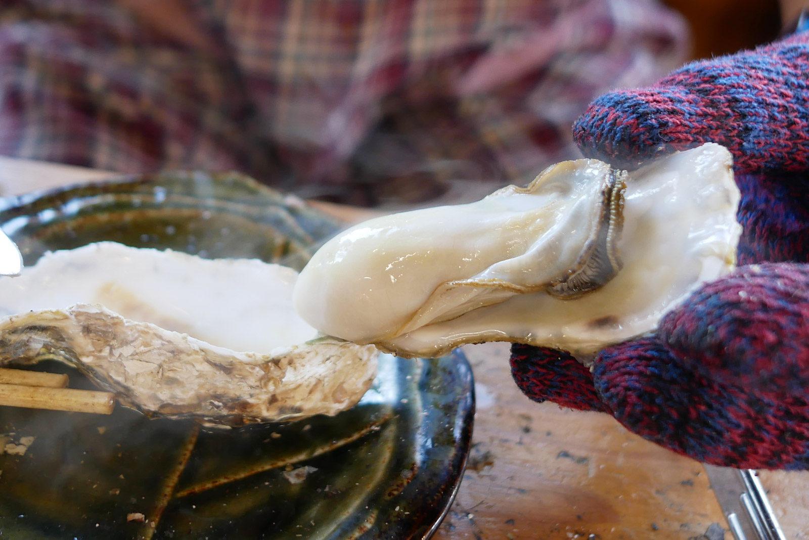 佐賀の旅 締めは竹崎牡蠣で