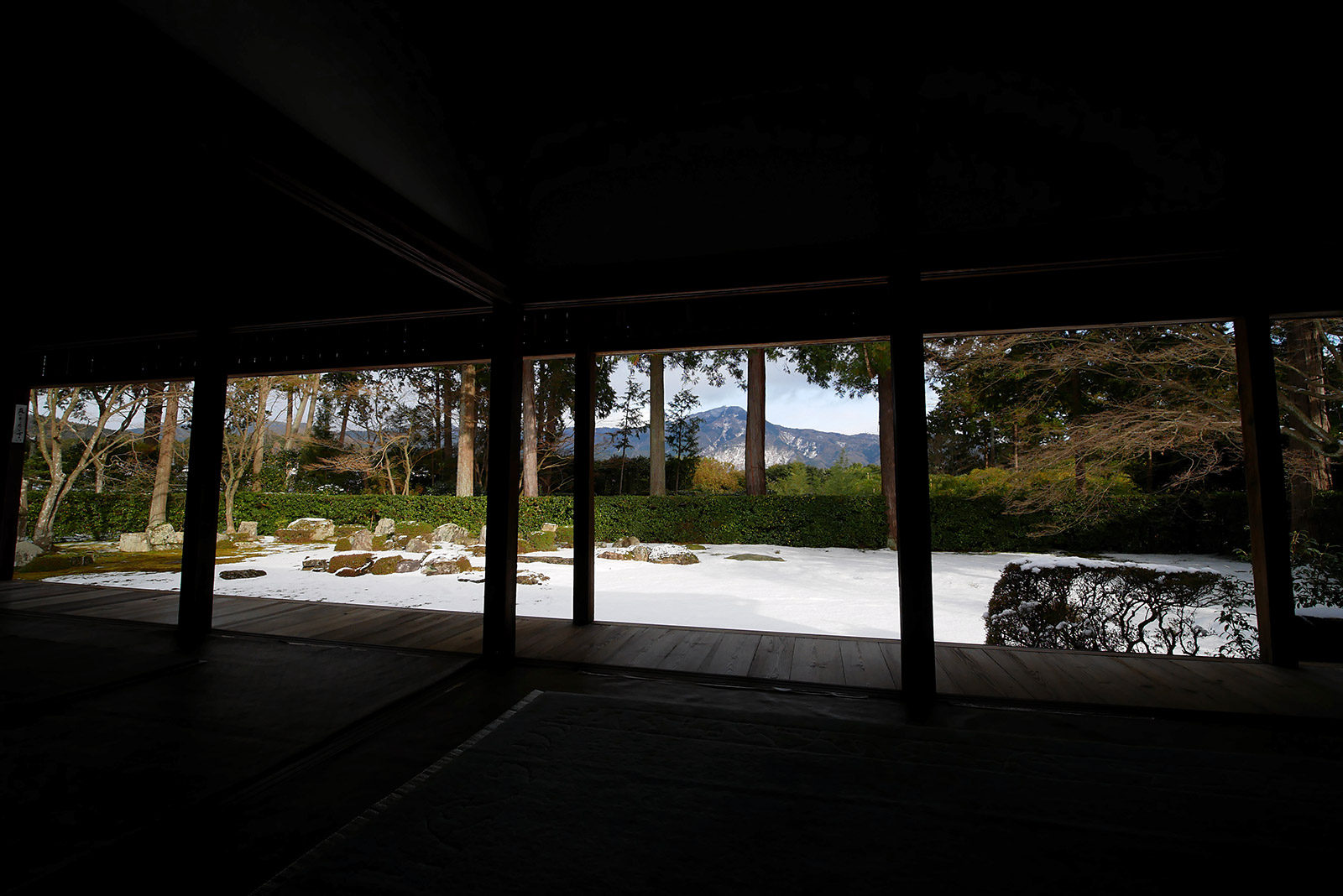 圓通寺庭園