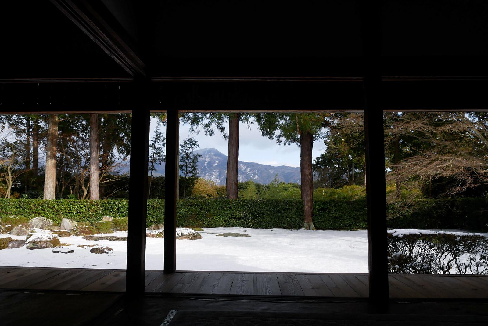 冬の京都三景 圓通寺庭園