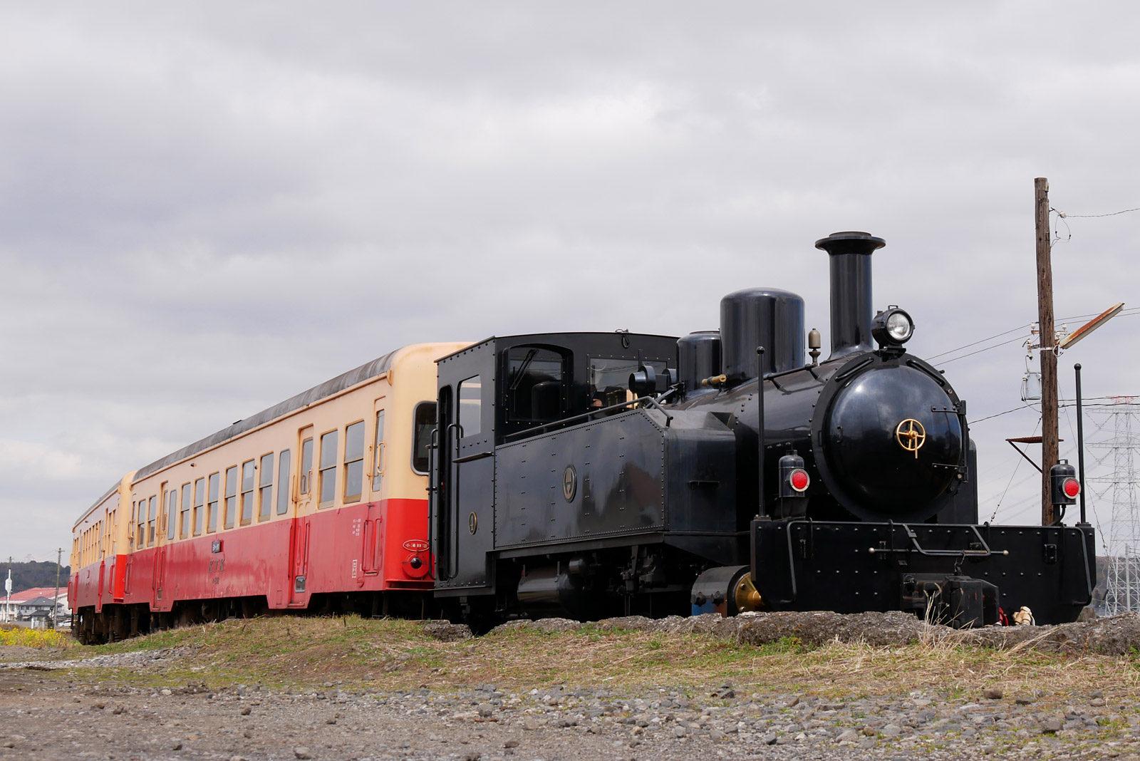里山トロッコ列車