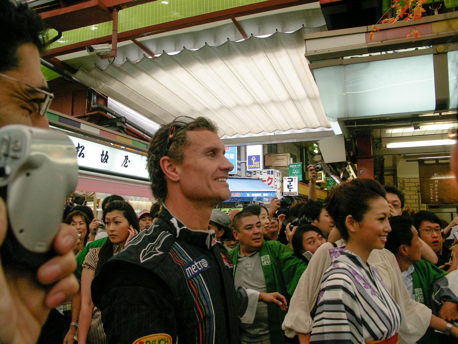 D.クルサード in 浅草寺