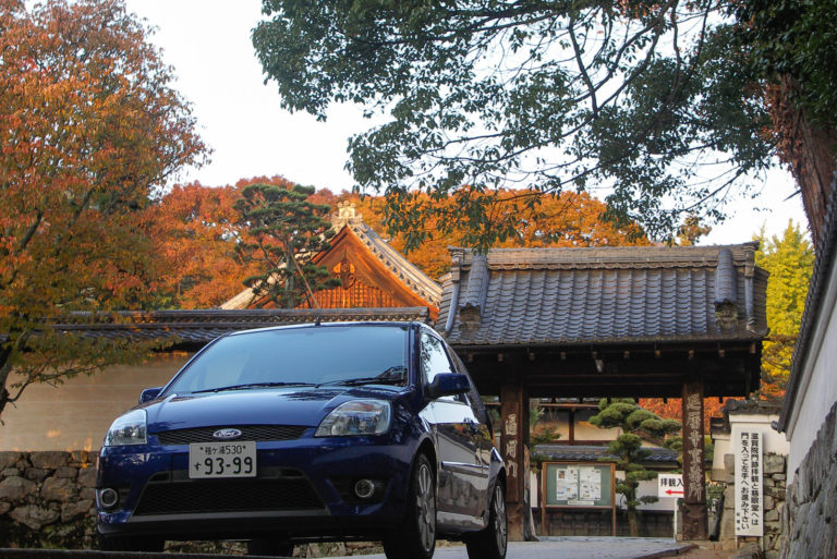 坂本の街並