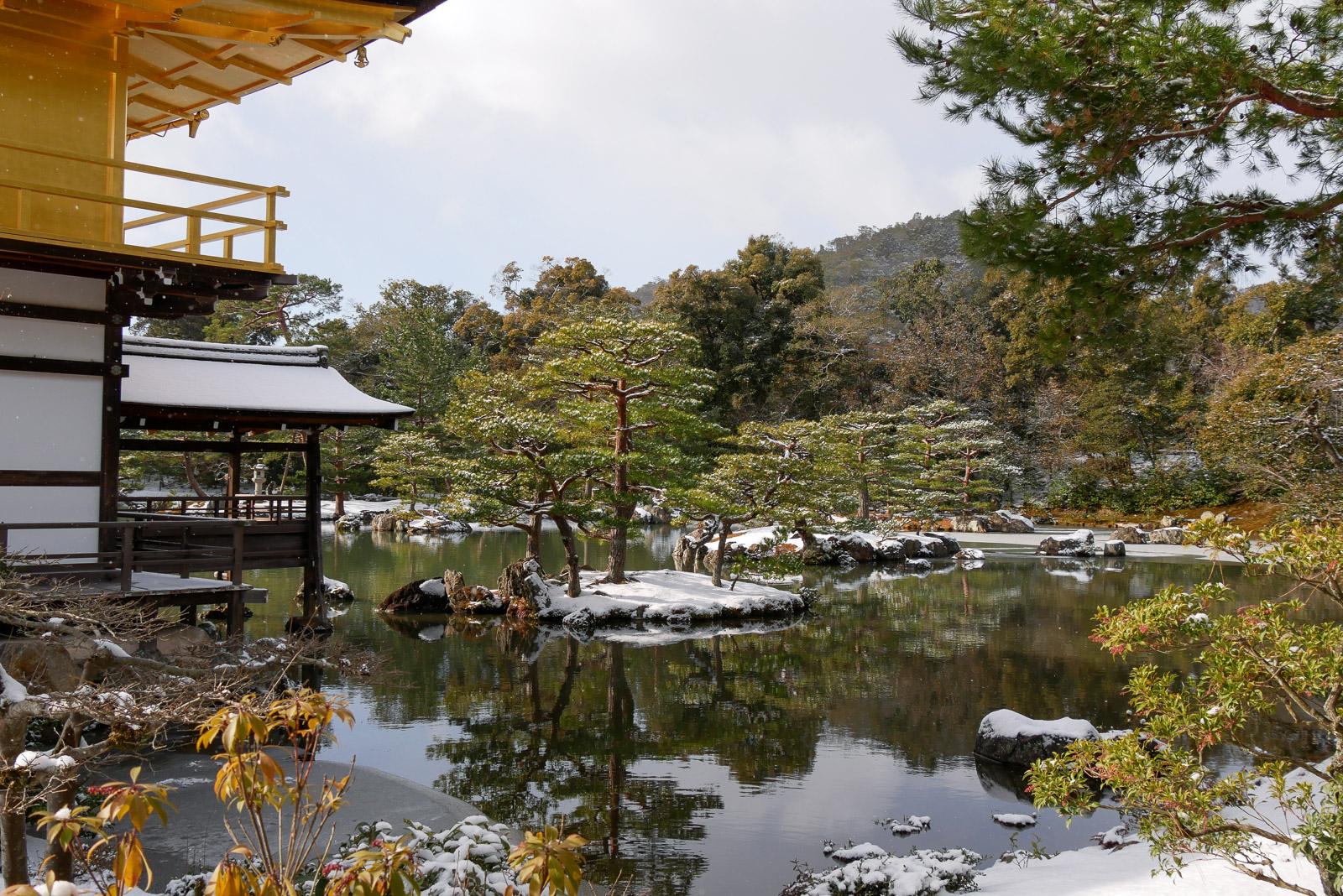 金閣寺 庭園