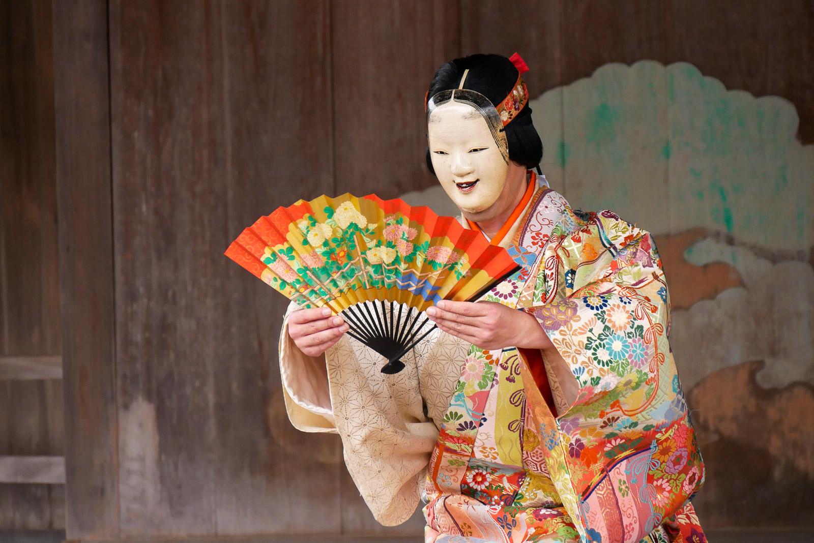桃花祭御神能 – 厳島神社
