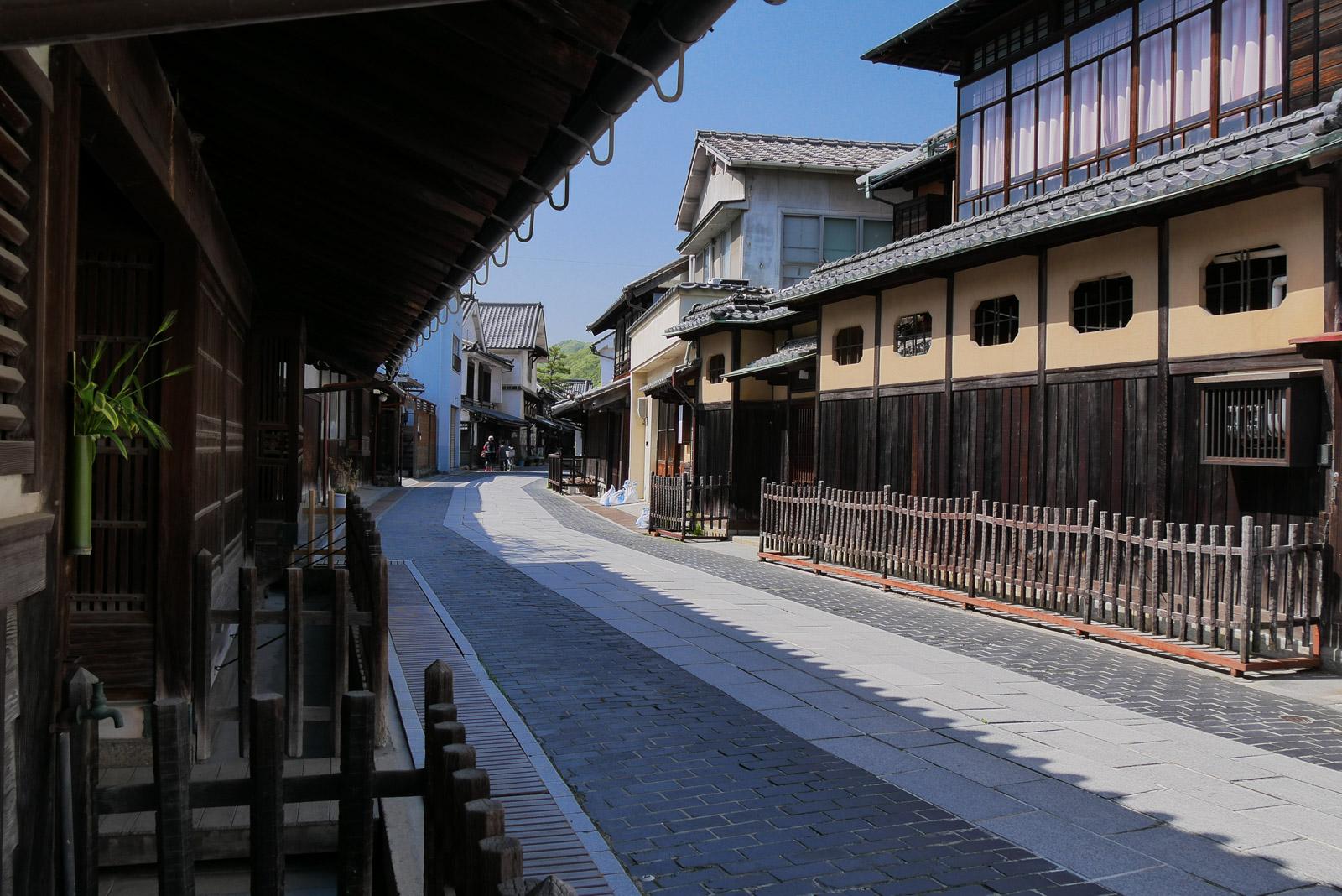 竹原の街並