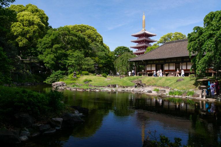 浅草寺伝法院庭園