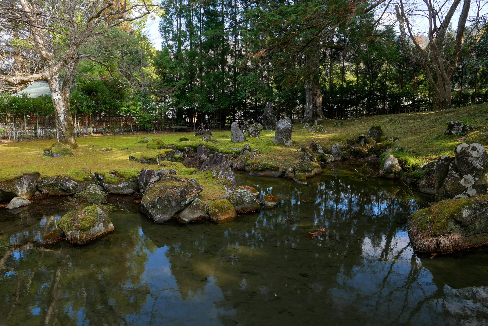 幽邃閑雅 北畠氏館跡庭園