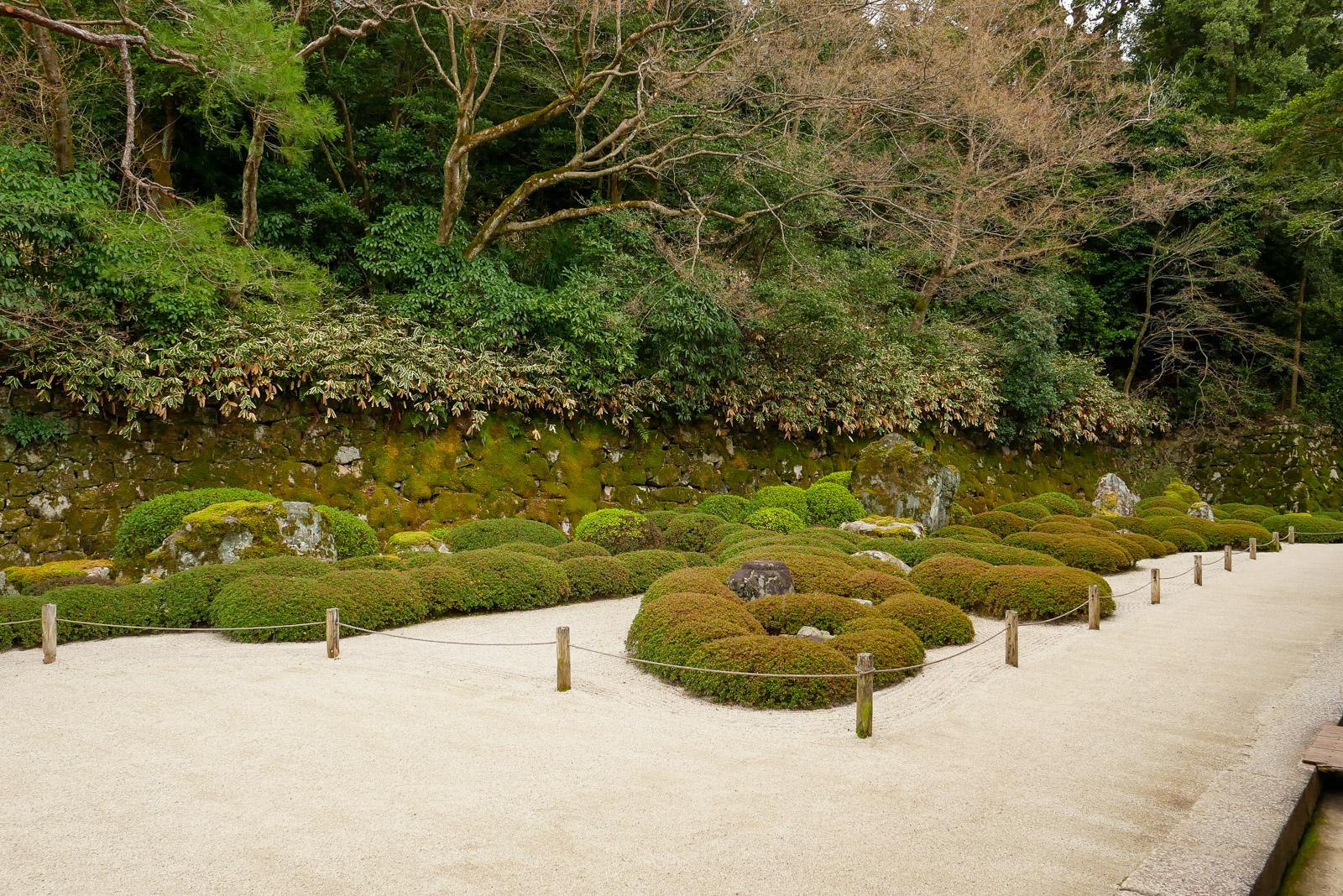 二十五菩薩の庭