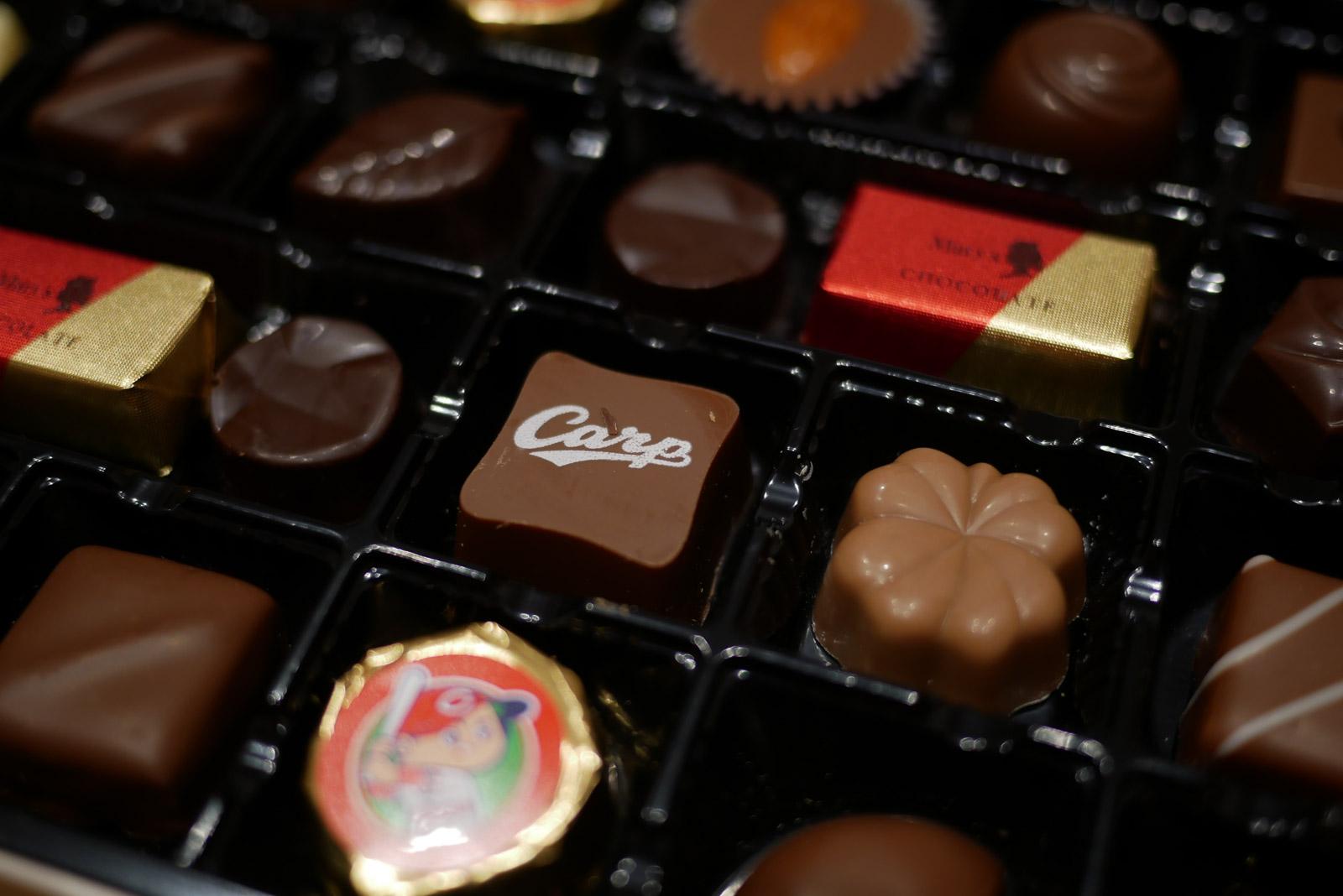 メリーチョコレート 広島東洋カープ ファンシーチョコレート