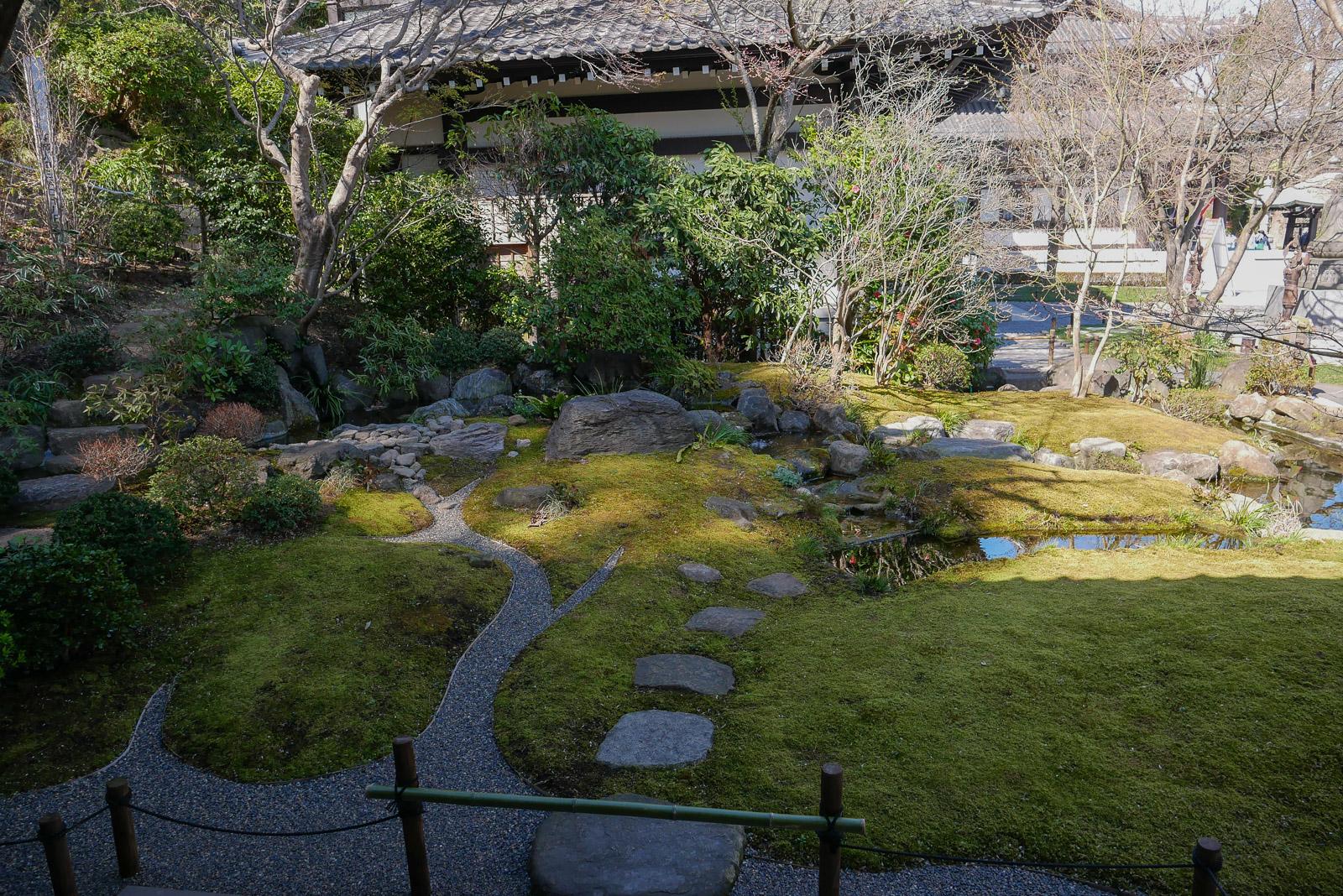 海光山慈照院 長谷寺の庭園たち