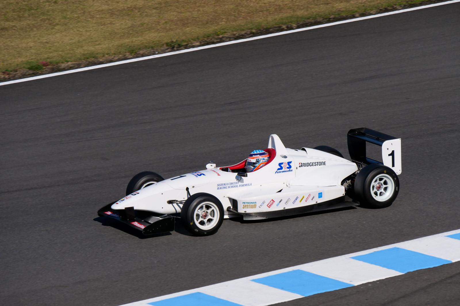 佐藤琢磨 SRS-Formula