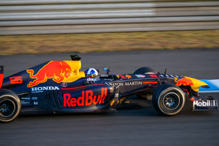 David Coulthard in MOTEGI