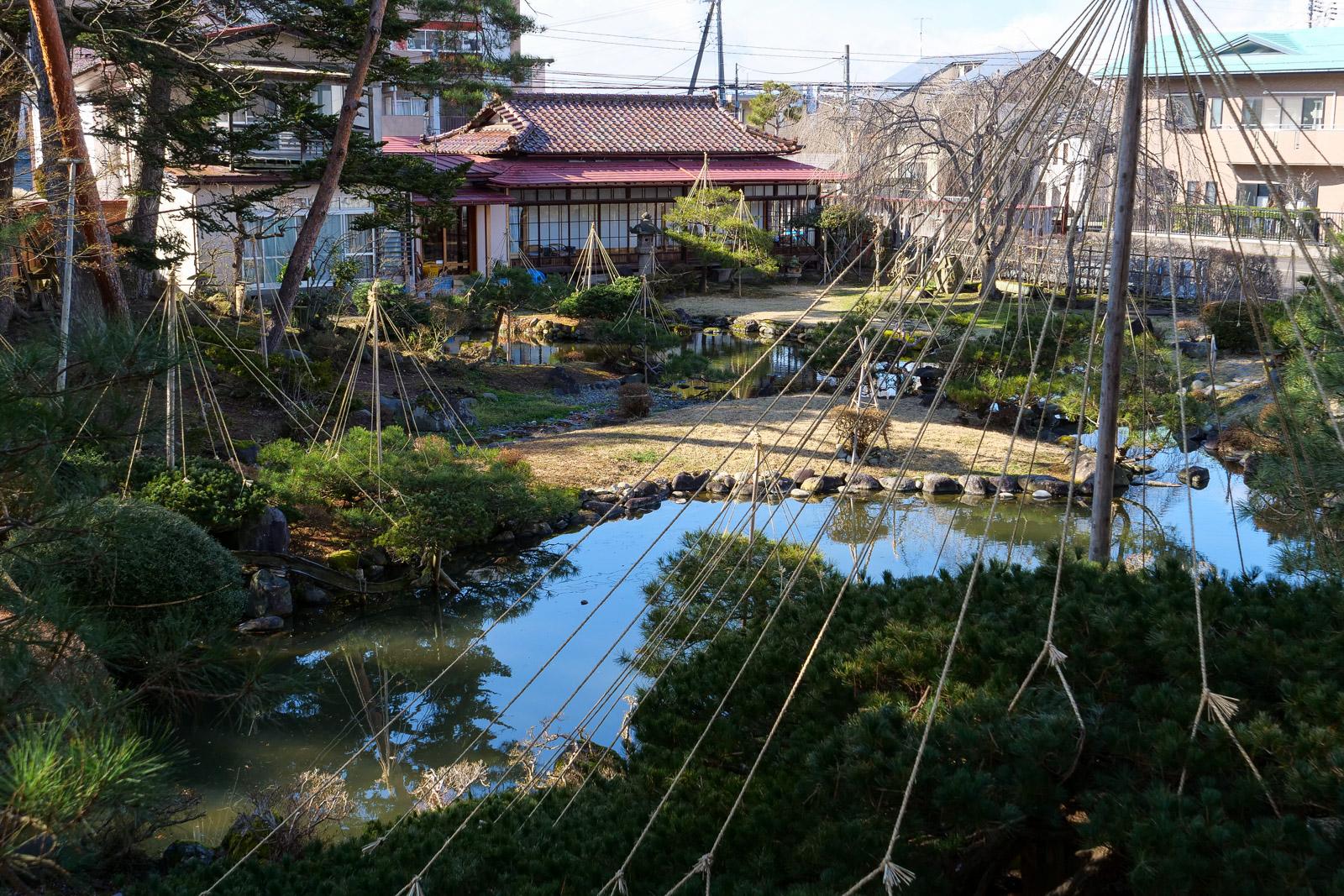 可月亭庭園美術館