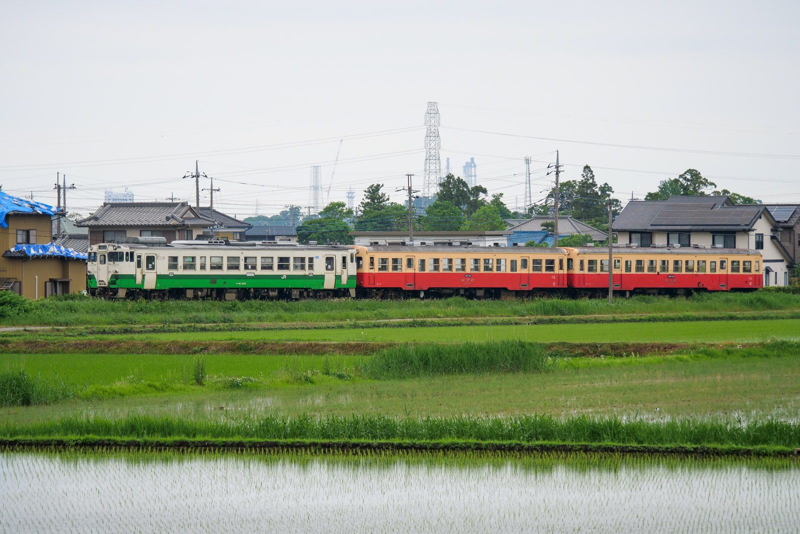 小湊鐵道に新たな仲間「キハ40形」